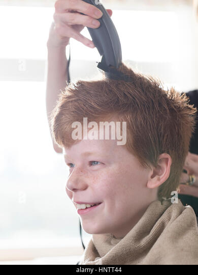 how to cut little boys hair with clippers