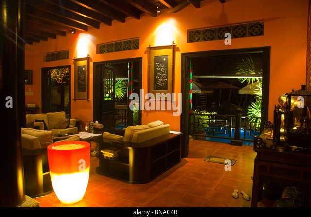 Traditional vietnamese house stock photos traditional for Interior design in vietnam