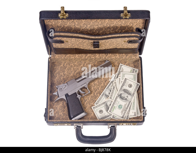 Trunk With Guns And Money