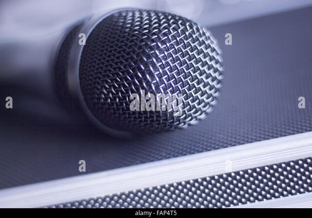 condenser microphone stock photos condenser microphone stock images alamy. Black Bedroom Furniture Sets. Home Design Ideas
