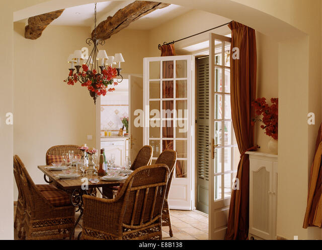 Country French Dining Room Stock PhotosCountry French Dining