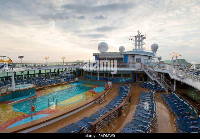 Brilliance of the seas cruise ship stock photos for Swimming pool poker