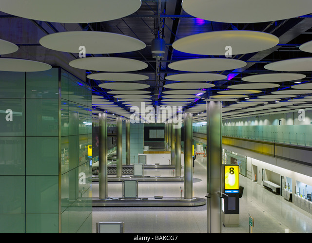 Hayes United Kingdom  City new picture : Terminal 5 Heathrow Airport, Hayes, United Kingdom, Rogers Stirk ...