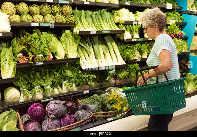 Woman food plastic supermarket stock photos woman food for Publix fish in a bag