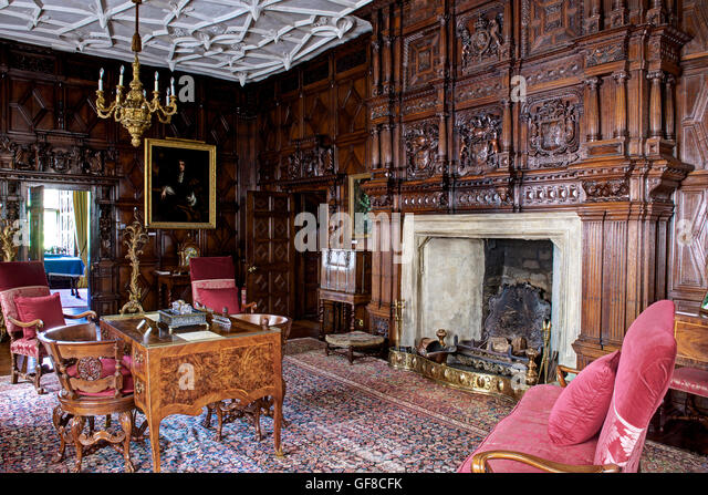 Stately Home Interior Uk Stock Photos Stately Home