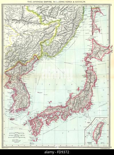 Japanese Empire Stock Photos  Japanese Empire Stock Images  Alamy