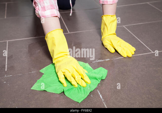 Floor cleaning   Stock Image. Cleaning Bathroom Floor Stock Photos  amp  Cleaning Bathroom Floor