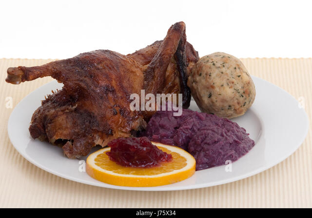 xmas dinner red cabbage
