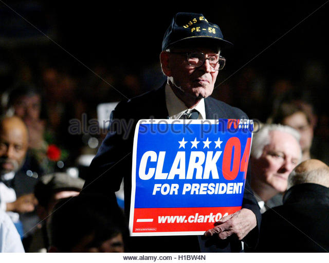 Wesley Clark presidential campaign, 2004
