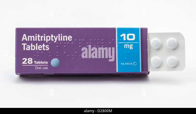 Amitriptyline Dosage For Pain Relief