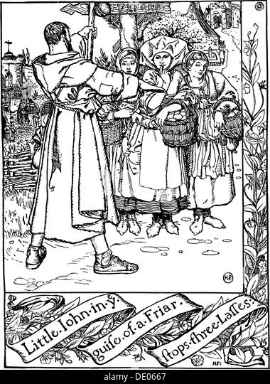 illustration from the book the merry adventures of robin hood by howard pyle 1883