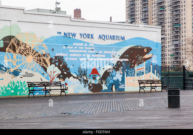 Brighton beach new york stock photos brighton beach new Aquarium in coney island