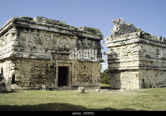 Pre-Hispanic City of Chichen Itza (10-16c.), Yucatan Peninsula ...