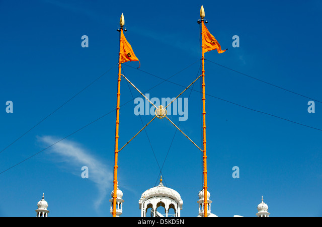 Sikh Flag Stock Photos & Sikh Flag Stock Images - Alamy