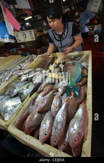 Nusa dua market stock photos nusa dua market stock for Local fish market