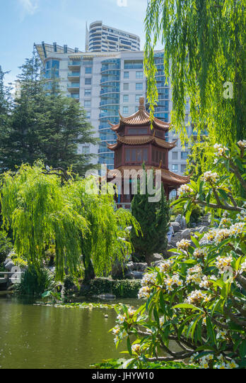 Chinese Garden Of Friendship Sydney Stock Photos & Chinese Garden Of ...