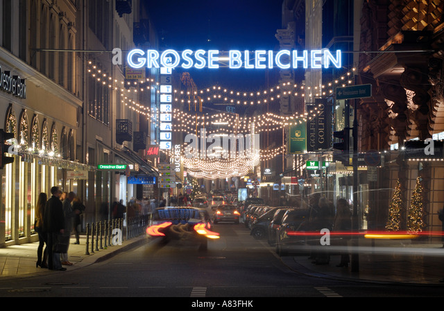 shopping street germany stock photos shopping street germany stock images alamy. Black Bedroom Furniture Sets. Home Design Ideas