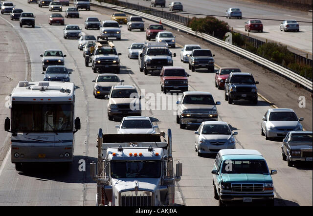 Interstate 580 traffic conditions