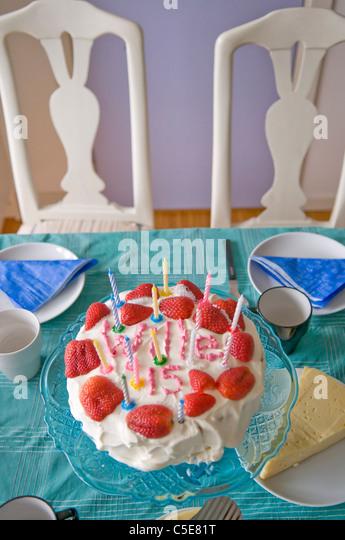 birthday cake candles dark stock photos amp birthday cake