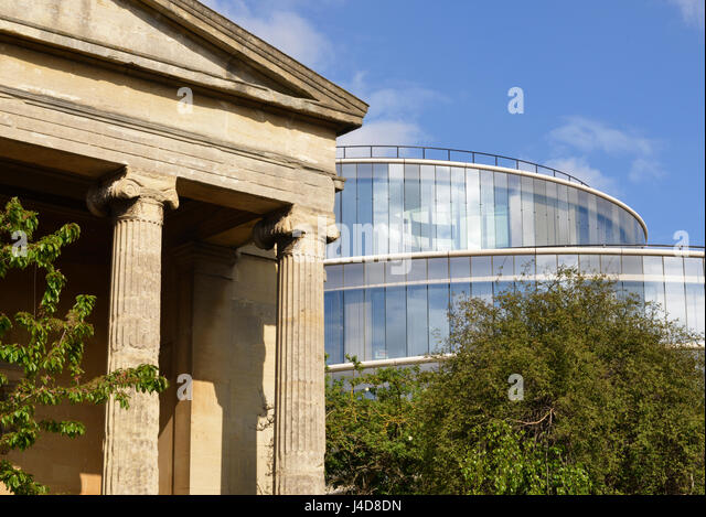Modern Architecture Oxford oxford university buildings design stock photos & oxford