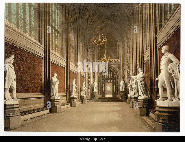 Delightful Houses Of Parliament, St. Stephenu0027s Hall (Interior), London, England   Part 5