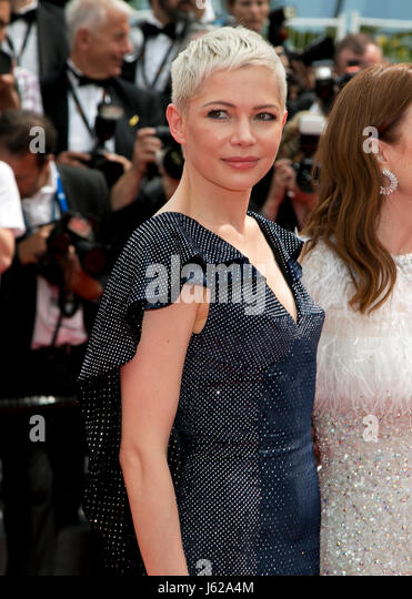 Cannes, France. 18th May, 2017. Michelle Williams attends the premiere of Wonderstruck during the 70th Annual Cannes - Stock Image