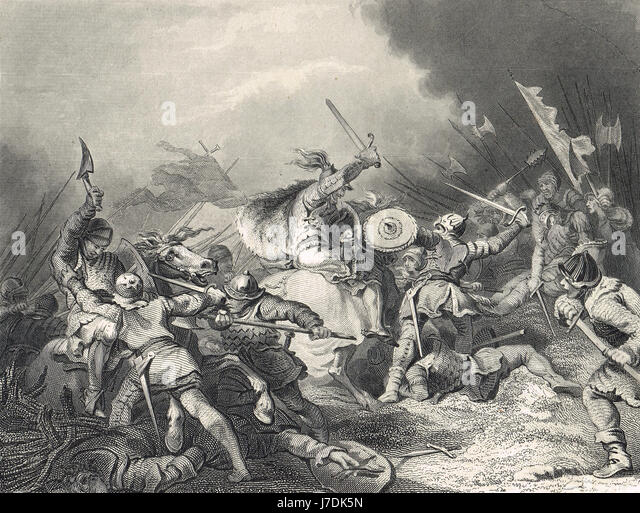 The Battle of Hastings 1066 - Stock Image