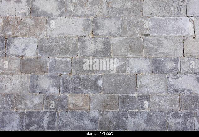 Granite Block Seawall : Stone wall sea defence stock photos