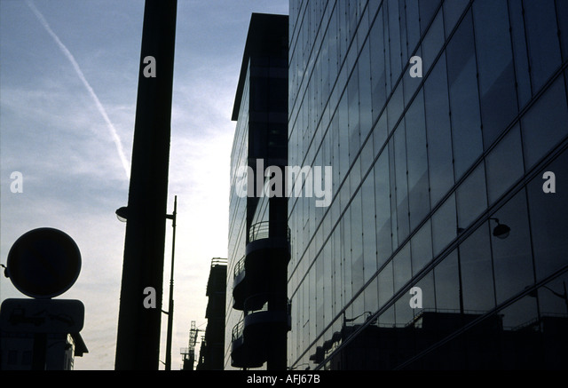 Modern Architecture France architecture in 13th arrondissement in stock photos & architecture