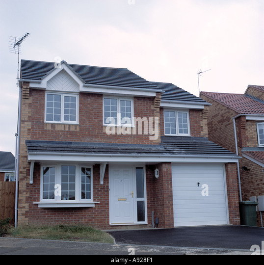 Integral garage stock photos integral garage stock - Small houses with built in garage ...