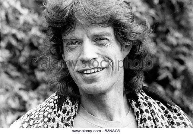 Mick Jagger 1980 Jagger Stock Ph...