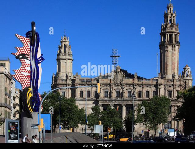 Correos stock photos correos stock images alamy for Oficina de correos barcelona