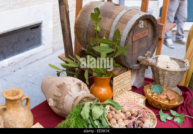Ancient roman kitchen stock photos ancient roman kitchen for Ancient roman cuisine