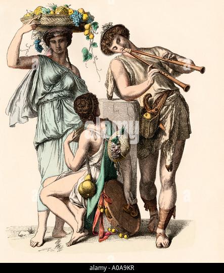 Women In Ancient Greece Stock Photos & Women In Ancient Greece ...