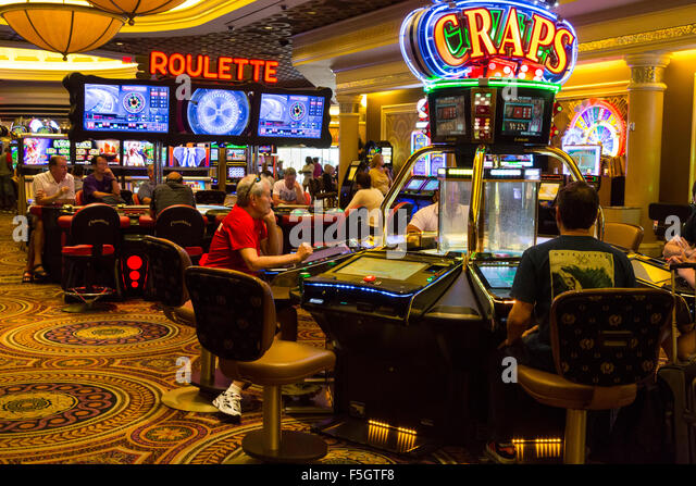 casino gaming tables stock image - Gaming Tables