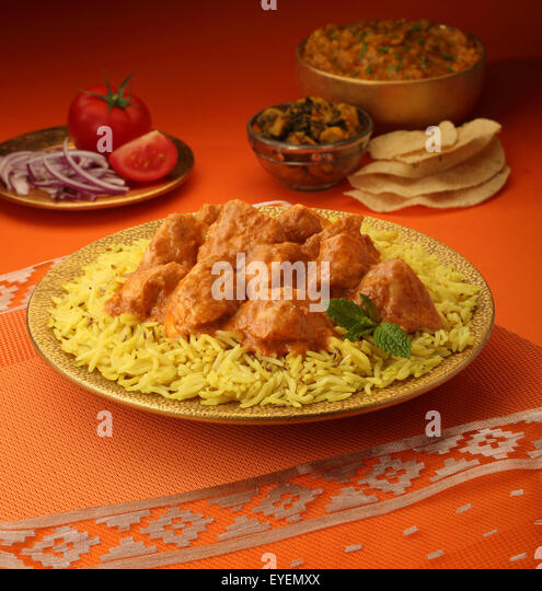 Basmati Rice Curry Stock Photos & Basmati Rice Curry Stock ...