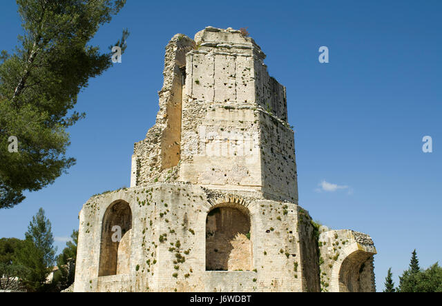 France provence nimes magne tower stock photos france provence nimes magne tower stock images - Tour magne nimes ...