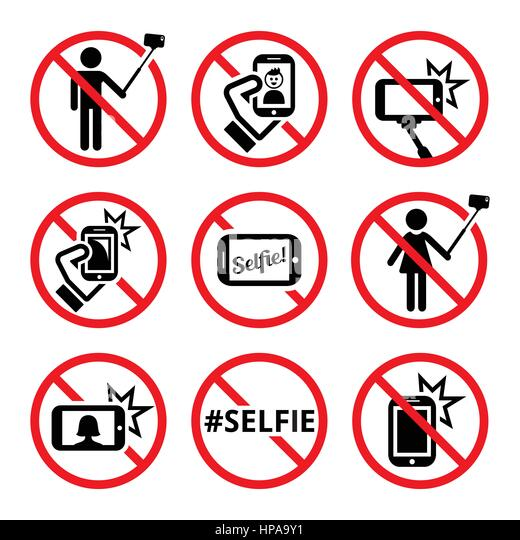 Selfie Stick Warning Stock Photos Selfie Stick Warning Stock - Noselfies 9 places where selfies are banned