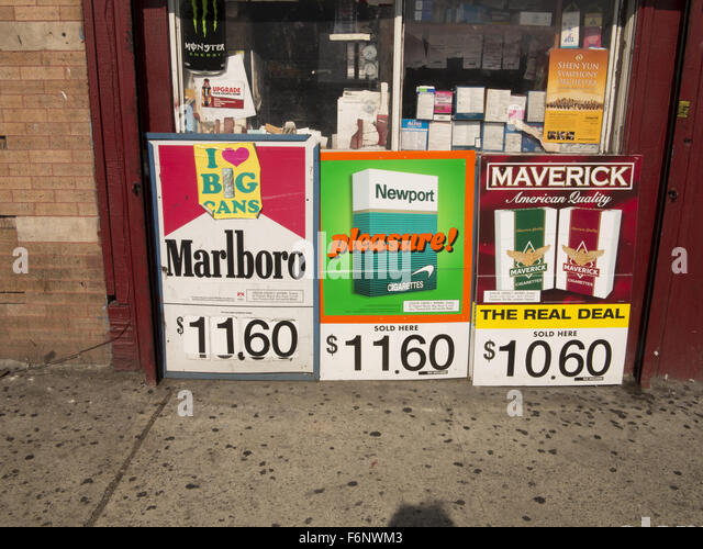 How much are More cigarettes in UK