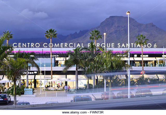 Shopping in canary islands stock photos shopping in - Centro comercial del mueble tenerife ...