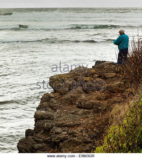 Siletz stock photos siletz stock images alamy for Fishing in lincoln city oregon
