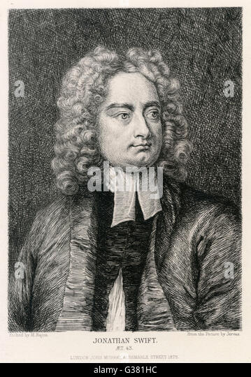 Jonathan swift ..wat kind of writer is he ?