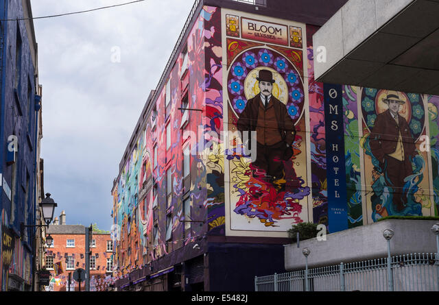 Murals ireland stock photos murals ireland stock images for Dublin wall mural
