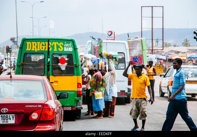 Image result for Selling by the Road ghana