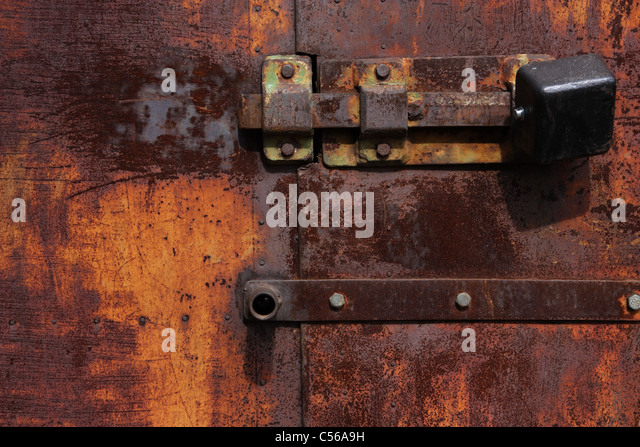 Rusty Door rusty door lock stock photos & rusty door lock stock images - alamy