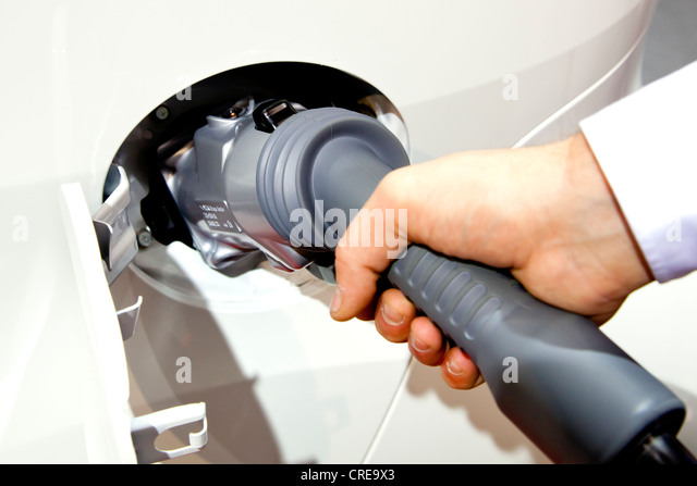 Electric Car Quick Charger Stock Photos Electric Car Quick