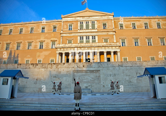 Syntagma Square Stock Photos & Syntagma Square Stock ...