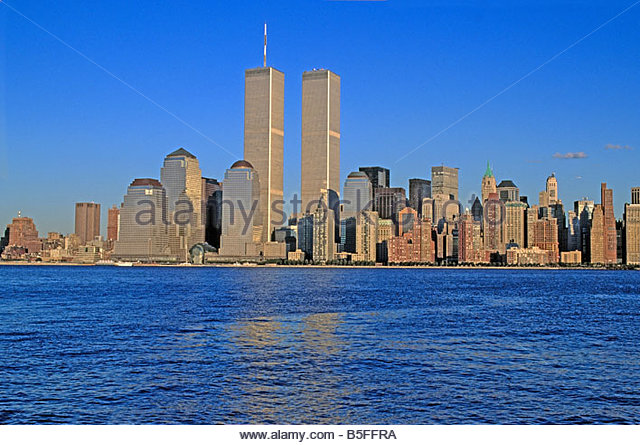 twin towers new york stock photos amp twin towers new york