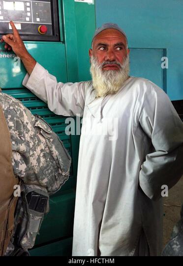 Abdullah Ghufar Generator Technician Afghanistan Stock Photos ...