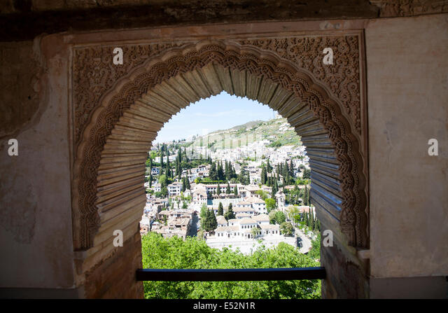 Moorish archway stock photos moorish archway stock for Moorish homes